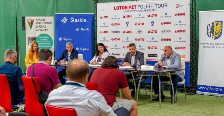 Hubert Hurkacz i inne tenisowe sławy zjadą do Bytomia (fot.UM Bytom)