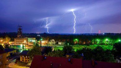 Śląskie: Nadchodząburze z gradem. Uważajcie! (fot.UM Bytom)