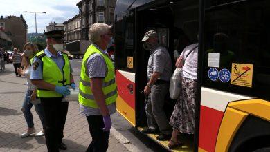 Śląskie: Ruszyły masowe kontrole maseczek w autobusach!