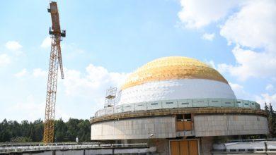 Trwa remont Planetarium Śląskiego. Prace idą pełną parą (fot.slaskie.pl)