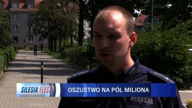 Zabrze: Stracił ponad pół miliona złotych. 71-latek uwierzył, że bierze udział w tajnej operacji policji [WIDEO] (fot.mat.TVS)
