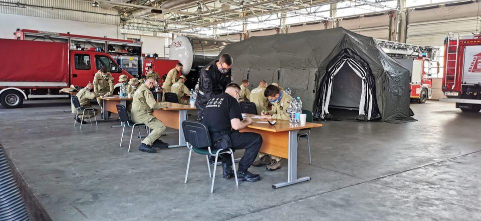 Z OSTATNIEJ CHWILI: strażacy z Polski lecą na pomoc do Libanu! Fot. KG PSP