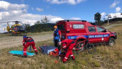 Sporo wypadków w Beskidach. Ratownicy GOPR-u pomagali przy 21 wypadkach. [fot. poglądowa / GOPR Beskidy]