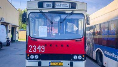 Kolejny weekend z Czerwonym Autobusem w Sosnowcu. Fot. UM w Sosnowcu