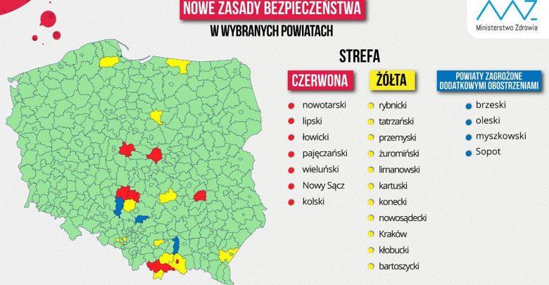 Koronawirus: Śląskie bez ani jednej czerwonej strefy. Nowe wytyczne Ministerstwa Zdrowia (fot. ŚUW w Katowicach)