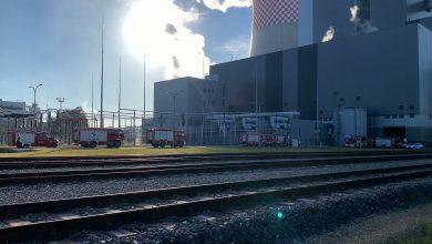 Pożar na terenie budowy bloku energetycznego elektrowni Jaworzno!