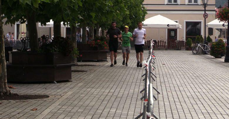 24-godzinny maraton wokół rynku w Pszczynie