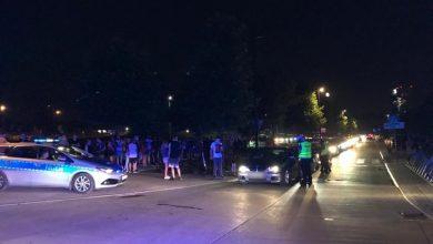 Nielegalne wyścigi w Katowicach. Policja interweniowała kolejny raz (fot.Śląska Policja)