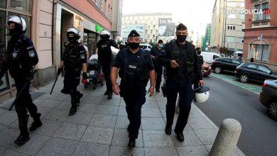 Katowice: Policja zatrzymała mężczyznę, który hajlował podczas manifestacji narodowców (fot.KWP Katowice)