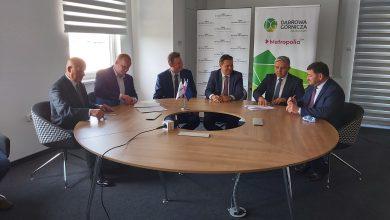 Podpisano umowę na budowę nowego centrum przesiadkowego w Dąbrowie Górniczej. [fot. Katarzyna Głowacka, materiały prasowe]