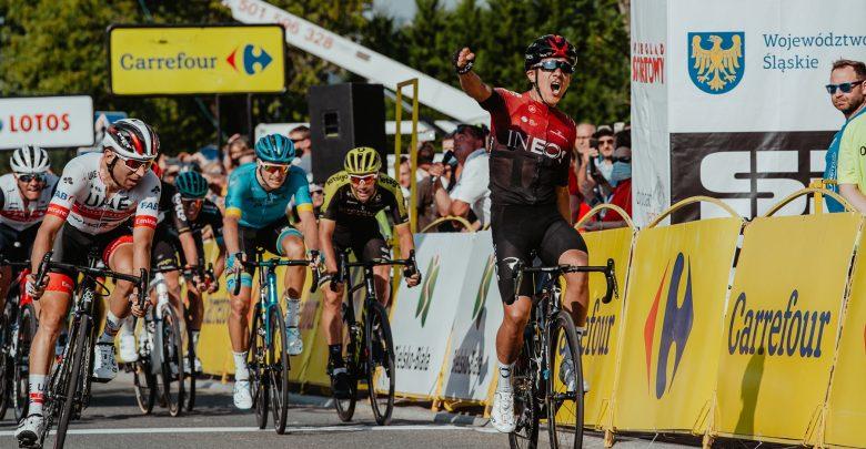 Tour de Pologne 2020: Richard Carapaz zdobywa Bielsko-Białą i żółtą koszulkę lidera (fot.TdP fot.Szymon Gruchalski)