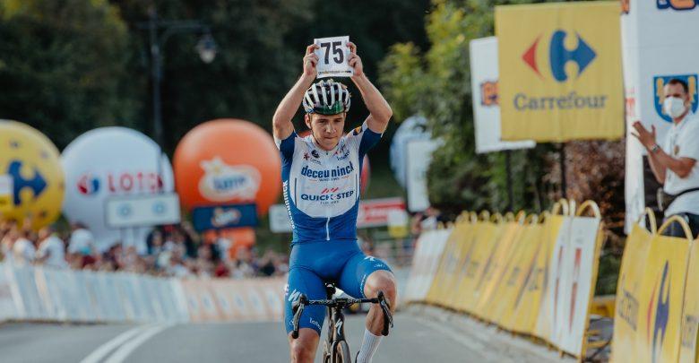 Tour de Pologne 2020: Wielki triumf Evenepoela, Belg nowym liderem Tour de Pologne fot.Szymon Gruchalski/Tour de Pologne
