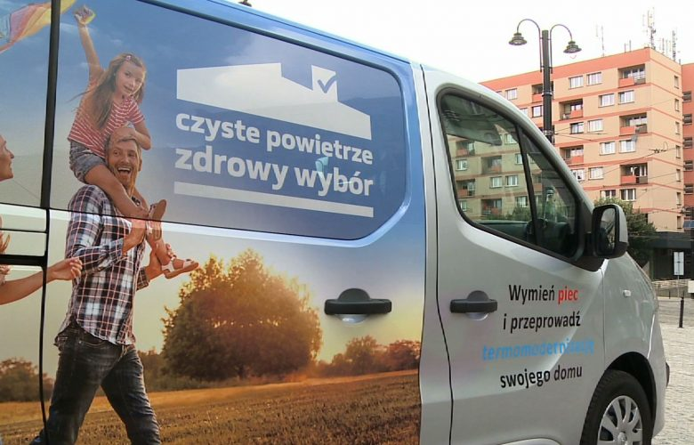 EkoMisja: Mobilne biuro programu Czyste Powietrze ruszyło w trasę!