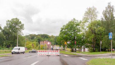 Bytom: Ulica Piłsudskiego i DK 94 w rejonie ul. Frenzla nieprzejezdne! Wszystko przez intensywne opady deszczu (fot.UM Bytom)