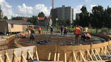 Wodny plac zabaw powstaje w Chorzowie (fot. silesia.info.pl)