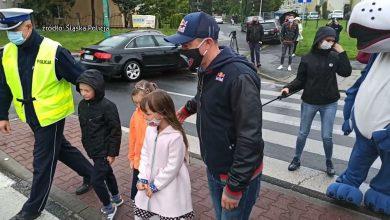 Adam Małysz uczył w Tychach dzieci bezpieczeństwa na drodze