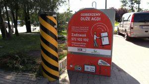 Mieszkańcy kilku miast w woj. śląskim mogą oddawać zużyty sprzęt elektroniczny przed sklepami jednej z sieci dyskontów