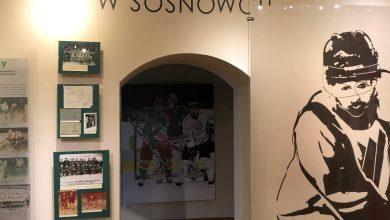 W sosnowieckim Zamku Sieleckim możecie zobaczyć ciekawą wystawę o historii hokeja w tym mieście. [fot. Sosnowieckie Centrum Sztuki - Zamek Sielecki / FACEBOOK]