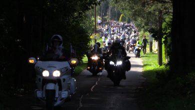 Walkę o 9,5 miliona złotych dla chorej na SMA Oliwki wsparli motocykliści.