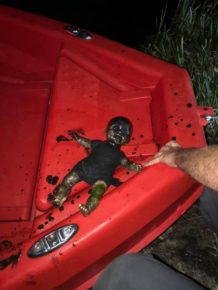 Śląskie: Stopa dziecka w Przemszy. Przerażające zgłoszenie mieszkańca Jaworzna (fot.OSP Dziećkowice/fb)