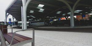 Centrum Przesiadkowe Sądowa pełniące rolę Międzynarodowego Dworca Autobusowego w Katowicach w końcu otwarte Foto: Daniel Kopciuch/ Metropolia GZM
