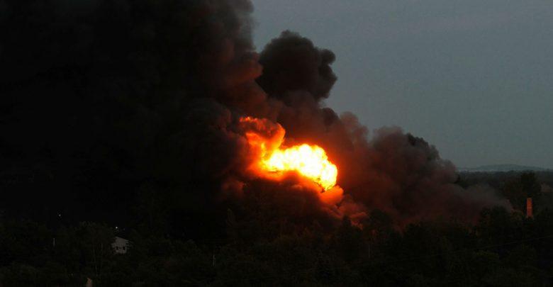 Sosnowiec: Prokuratura wszczyna śledztwo w sprawie ogromnego pożaru chemikaliów