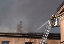 Kolejny pożar w tej samej szkole w Lublińcu! Straty rosną lawinowo!