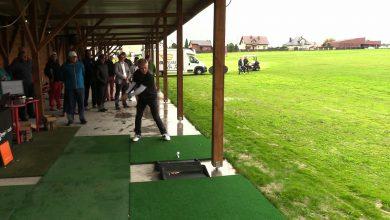 Golfiarze zmierzyli się na turnieju Long Drive w Mikołowie