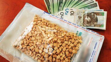 Śląskie: Narkotyki o wartości ponad 200 tys. złotych w domu kibola. Grozi mu 12 lat więzienia (fot.Śląska Policja)