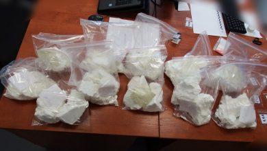 Tychy: 12 kg amfetaminy w ogródku działkowym. Policja zatrzymała kiboli (fot.Śląska Policja)