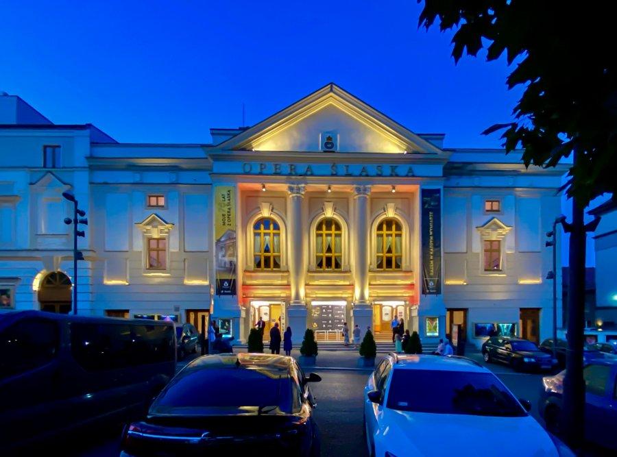 Bytom zaświecił światło dla Białorusi [ZDJĘCIA]. Fot. UM w Bytomiu