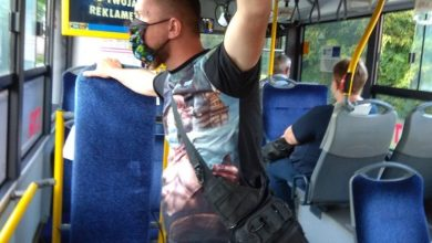 Policyjni tajniacy w autobusach w Sosnowcu. Dbają o porządek, strzegą przed złodziejami. [fot. KMP Sosnowiec]