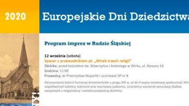 Europejskie Dni Dziedzictwa 2020 (fot. silesia.info.pl)