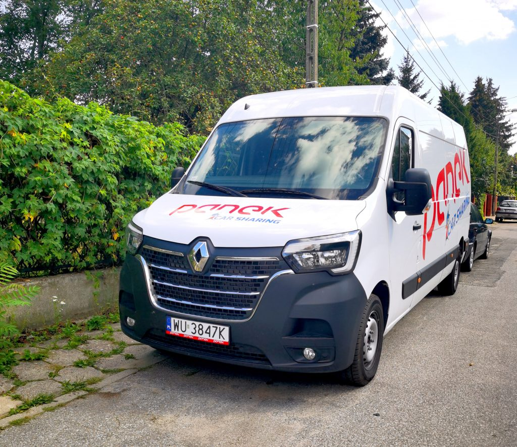 PANEK wprowadza samochody ciężarowe do CarSharingu (fot, firma PANEK)