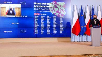 Śląskie: Nowe powiaty i miasta w rozszerzonej CZERWONEJ STREFIE od 17 października! (fot.Ministerstwo Zdrowia/Twitter)