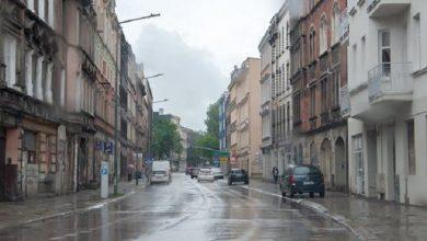 """Deszczówka w Bytomiu to od teraz """"miejski problem"""" (fot.UM Bytom)"""