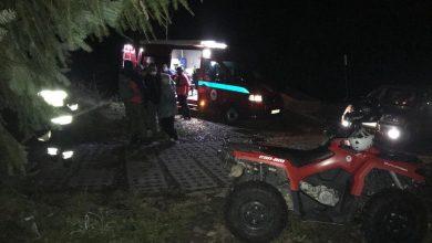Nocna akcja w Beskidach. GOPR szukał zaginionej 71-latki. Fot. GOPR Beskidy