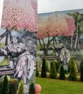 Nałkowska na Nałkowskiej. Mural Zofii Nałkowskiej powstał w Tychach (fot. UM Tychy)
