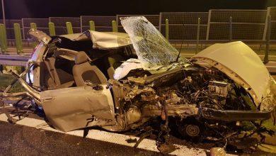 Koszmar na S1 w Bielsku! Zobaczcie, co zostało z samochodu! foto. Waszym Okiem - Radio Bielsko