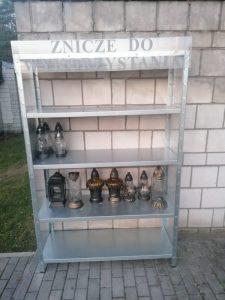 Na zdjęciach: cmentarze w Okradziononowie i Tucznawie przygotowane do akcji (fot.UM Dąbrowa Górnicza)