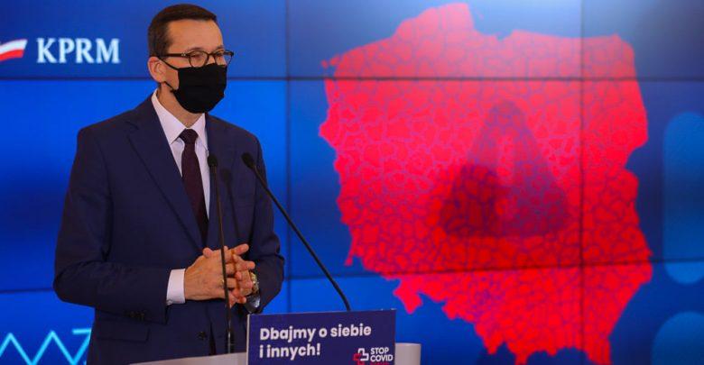 Od 24 października cała Polska to CZERWONA STREFA. Za dwa tygodnie możliwy kompletny LOCKDOWN (fot.KPRM)