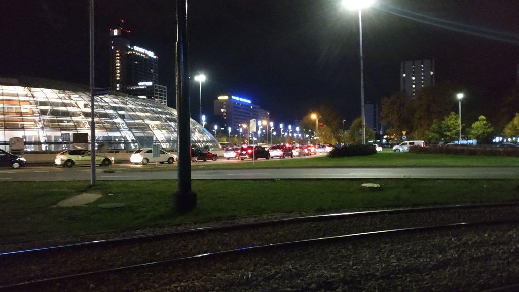 Blokada ronda - a co za tym idzie centrum Katowic - rozpoczęła się w poniedziałek, 26 października punktualnie o 16.00
