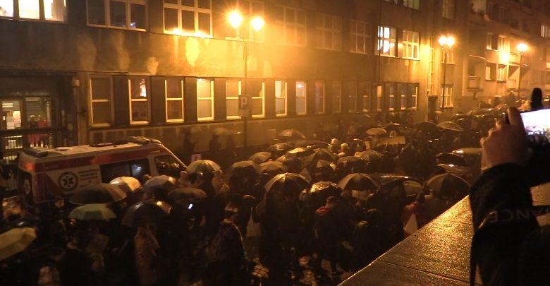 Katowice: Kilka tysięcy osób protestowało przeciwko wyrokowi TK [WIDEO]