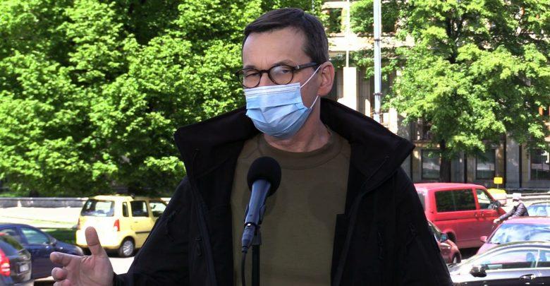 Premier Mateusz Morawiecki podczas Nadzwyczajnego Zjazdu Online Klubów Gazety Polskiej powiedział, że takiej drugiej fali pandemii się nie spodziewał. [fot. archiwum]