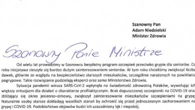 """A. Chęciński grzmi do ministra w sprawie szczepionek! """"Przecież to absurd!"""". Fot. UM Sosnowiec"""