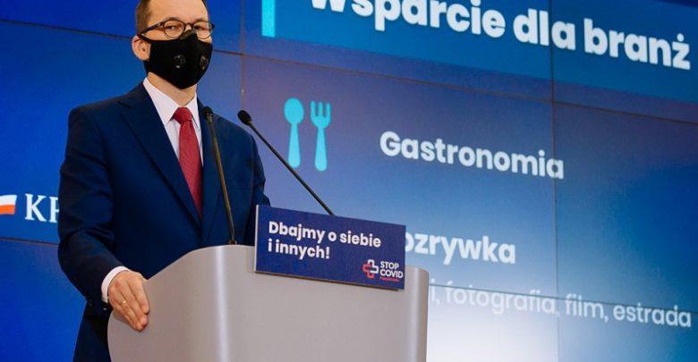 Antykryzysowa Tarcza Branżowa, czyli rządowe wsparcie dla firm w związku z COVID-19. Szczegóły (fot.premier.gov.pl)