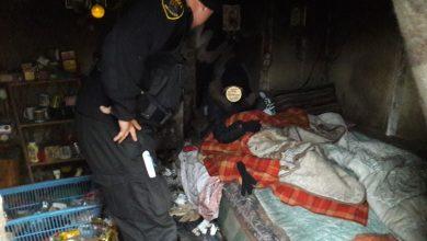 Katowicka straż miejska uratowała życie bezdomnemu. Fot. Straż Miejska w Katowicach