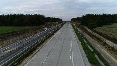 Betonowy kawałek Bursztynowej Autostrady gotowy. W czwartek pojedziemy nowym odcinkiem A1 za Częstochową