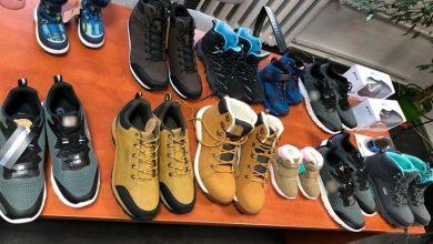 Śląskie: Ukradli 150 par butów. Oboje pracowali w magazynie z obuwiem (fot.Śląska Policja)