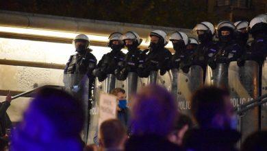Interwencja wobec posła Macieja Kopca podczas strajku w Katowicach. Co mówi policja? (fot.Śląska Policja)